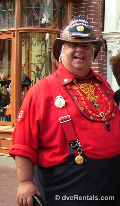 Fire Chief Smokey Miller