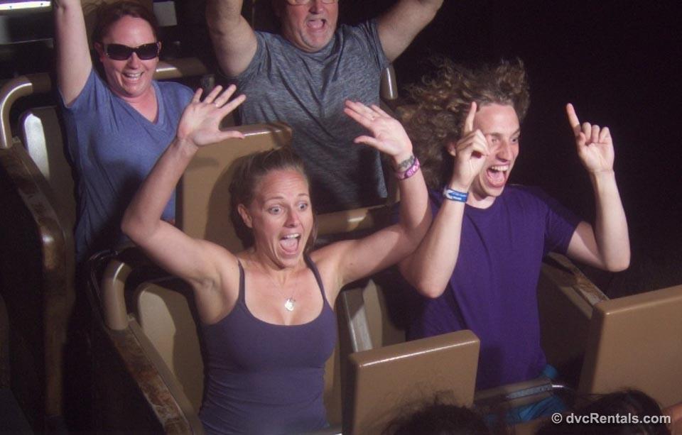 DVC Staff having fun Disney Ride