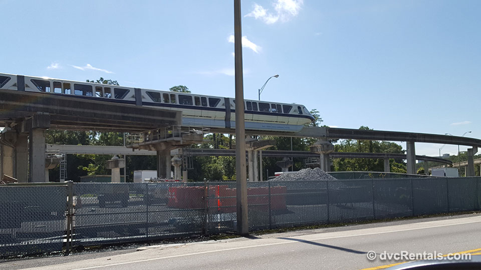 Disney Monorail Barn 2