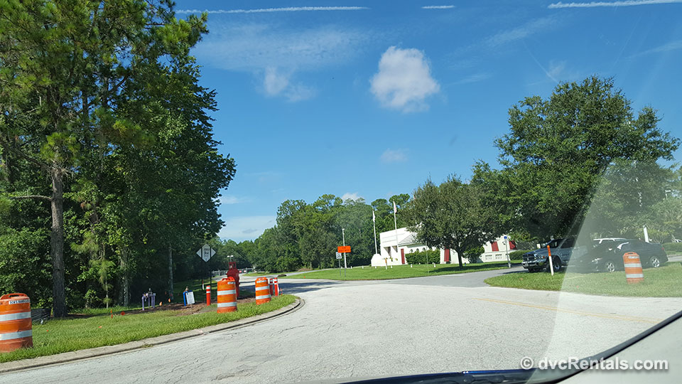 Road to Firehouse and Fireworks Area