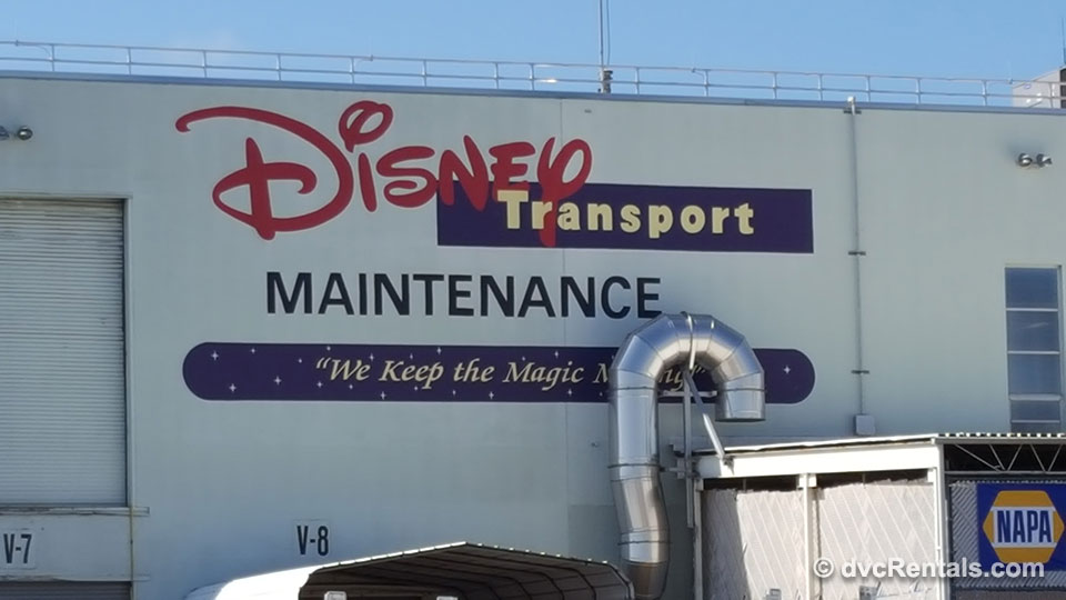 Disney Transport Maintenance