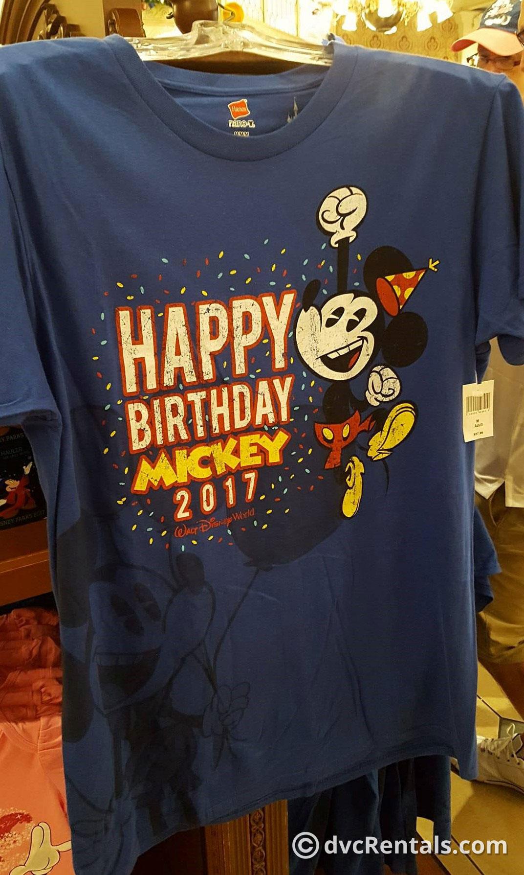 Mickeys Birthday Celebration