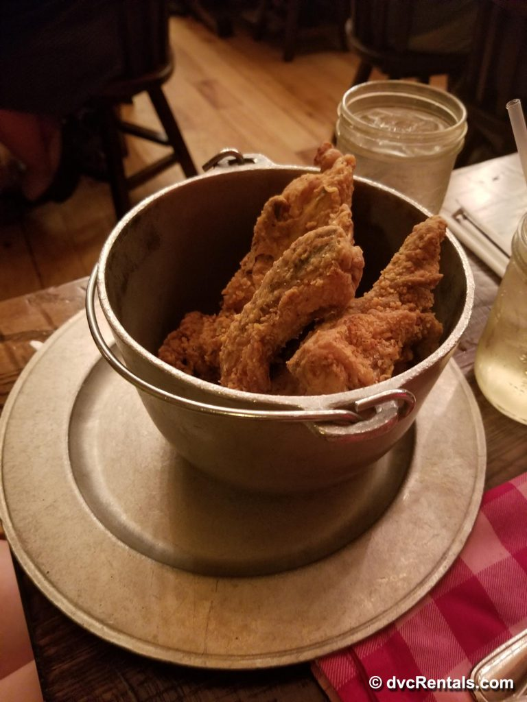 Fried Chicken Dinner from Hoop-Dee-Doo Musical Revue