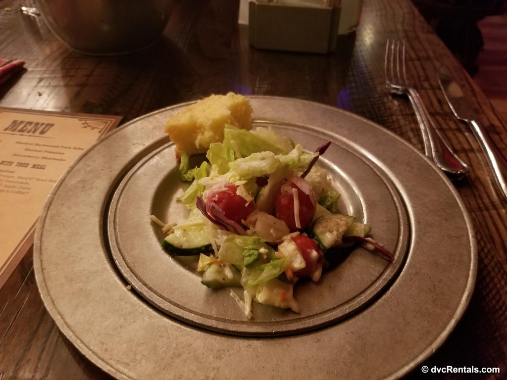 Salad from Hoop-Dee-Doo Musical Revue