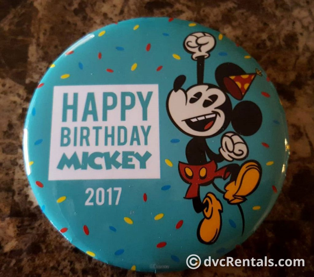 Free Guest Birthday Button
