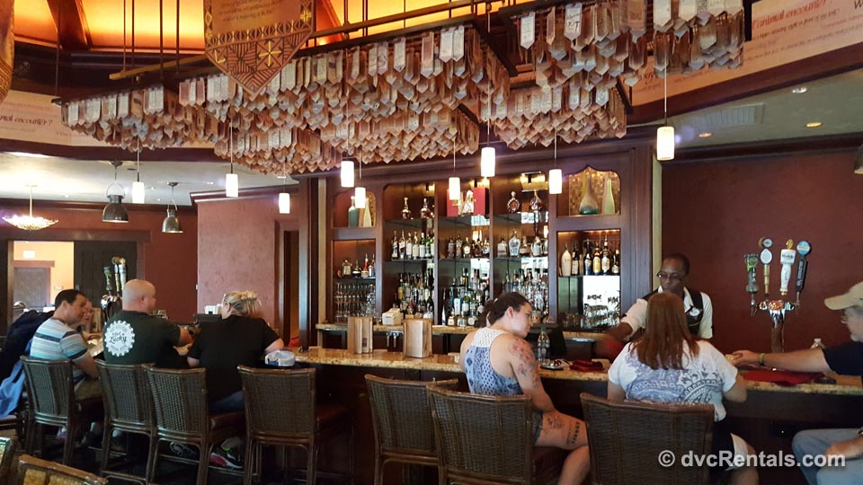 Tiffins Bar Area