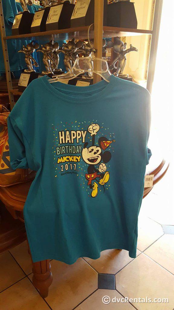 Mickey Mouse Birthday Child Shirt