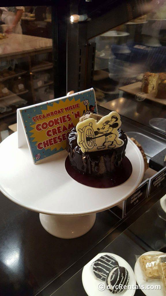 Mickey Birthday Cheesecake Bakery