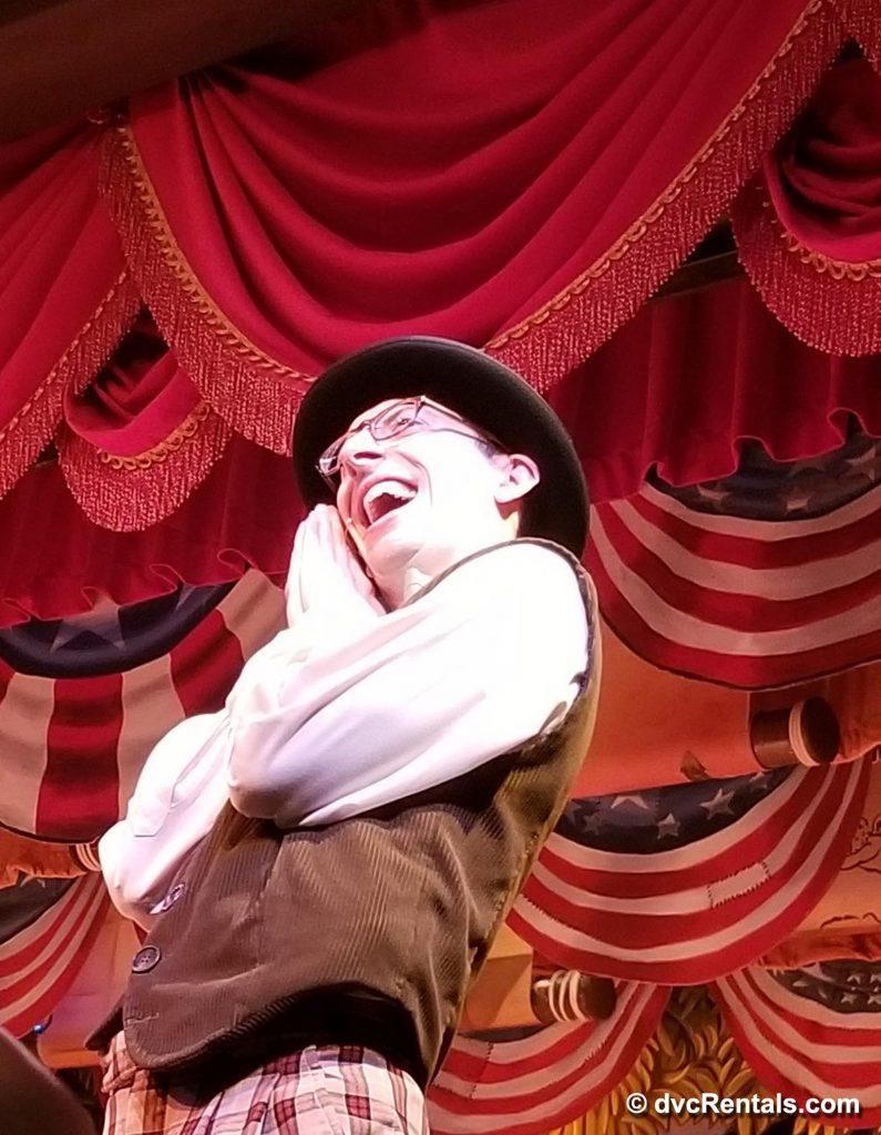 Disney Cast Actor in Group of Disney Actors in Hoop-Dee-Doo Musical