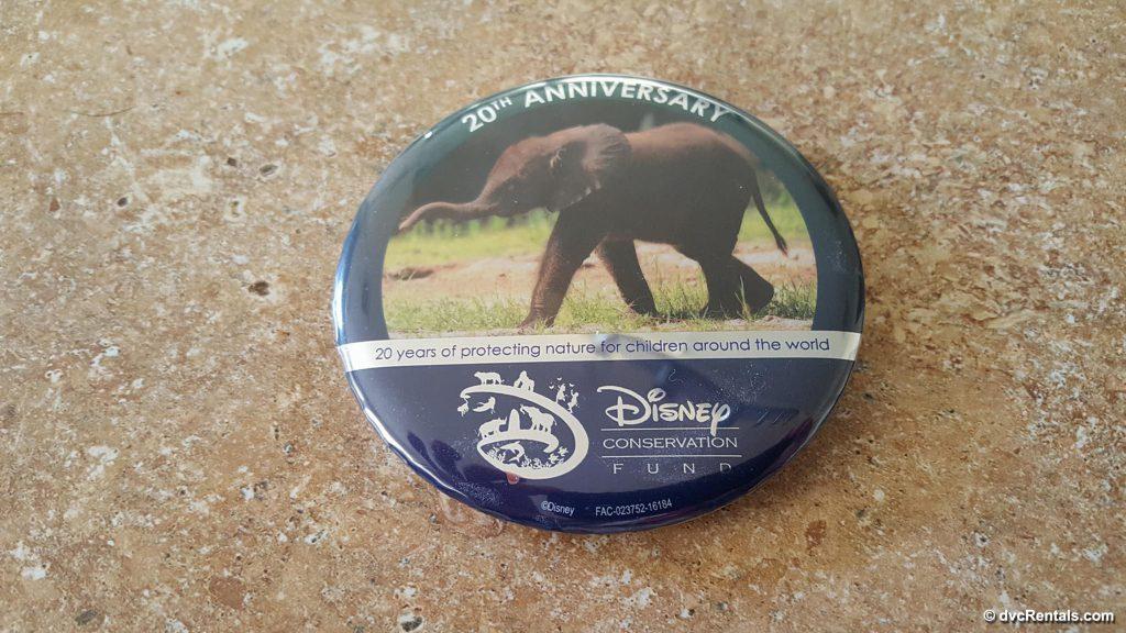 Conservation Button