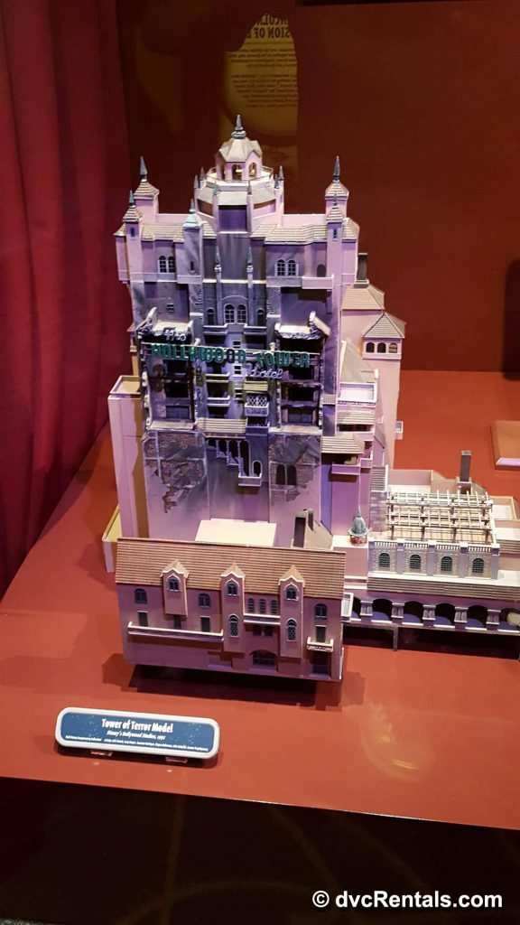 Disney Tower of Terror Model
