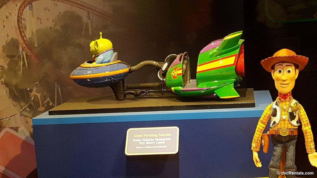 Alien Saucers, Toy Story Land