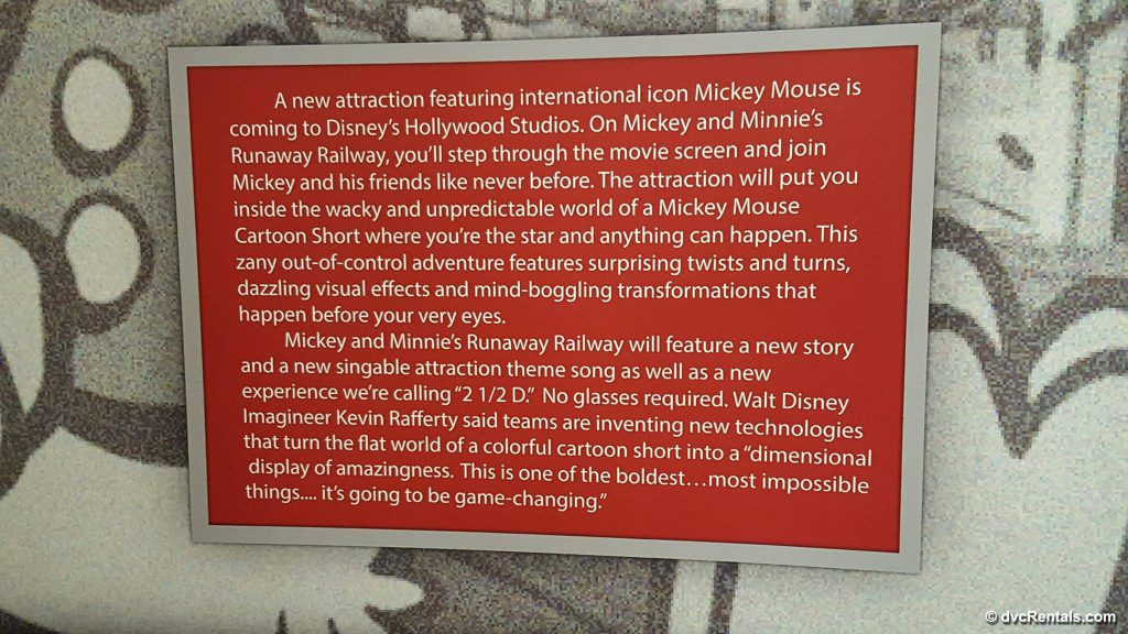 Mickey Mouse New Attraction at Disney's Hollywood Studios.