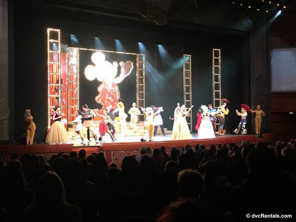 Mickey Mouse Shows on Disney Cruise
