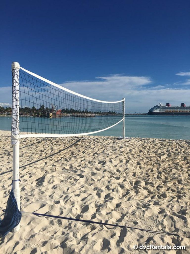 Volleyball Beach Disney Cruise