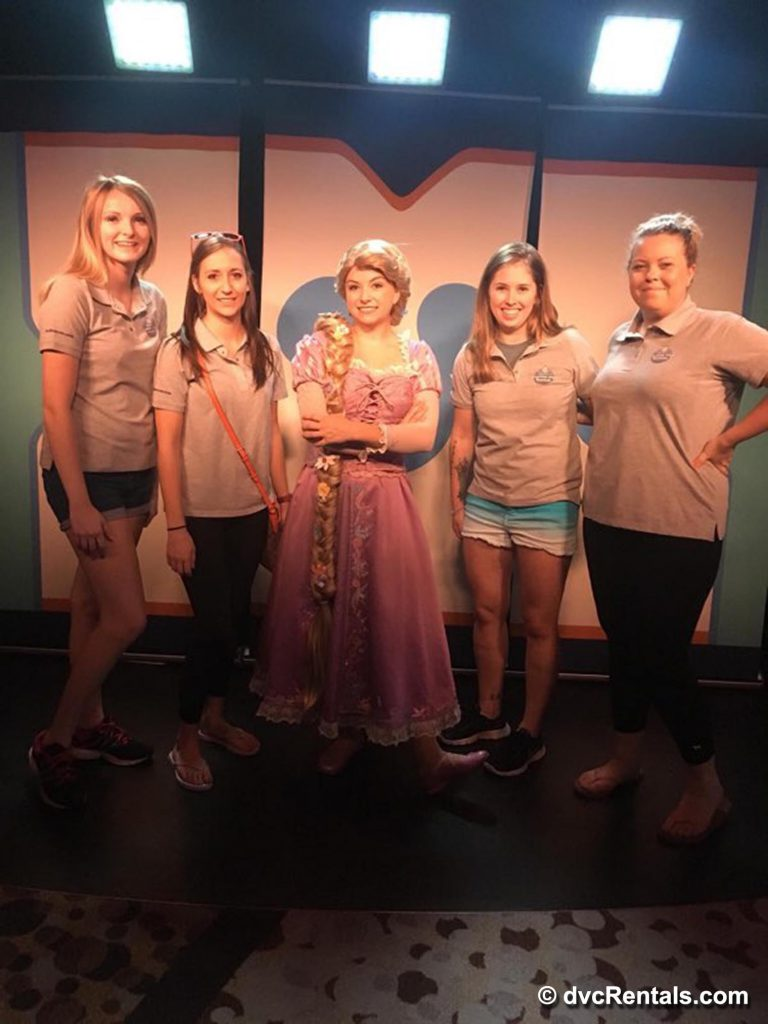 Disney Cast Member with DVC Team on Cruise
