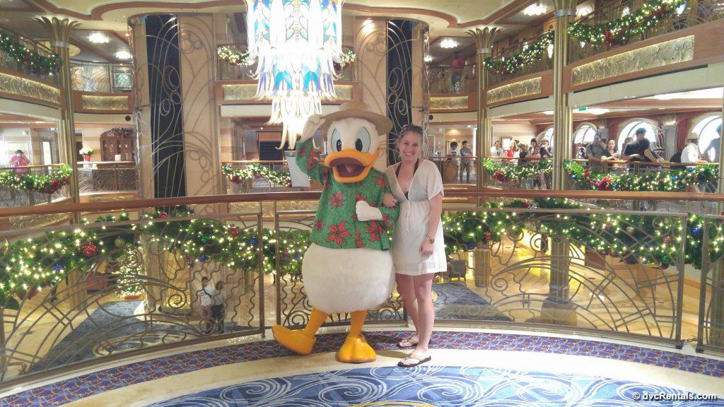 Donald Duck On Disney Cruise