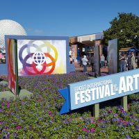 Festival Signage and Flowers