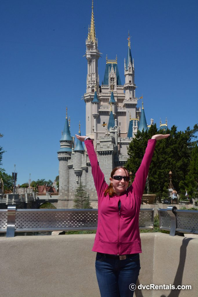 In front of Cinderella Castle