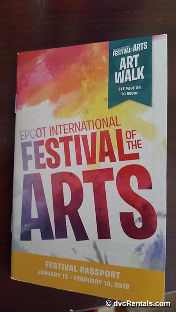 Passport Epcot International Festival of the Arts
