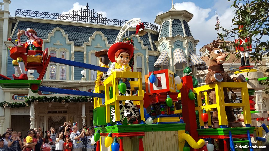 Toy Story Float in Parade