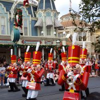 Marching Soldiers in Disney Parade