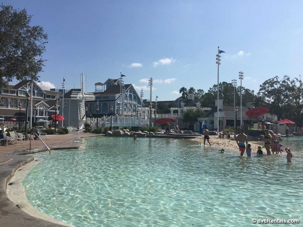 Disney Beach Club Villas Stormalong Bay pools