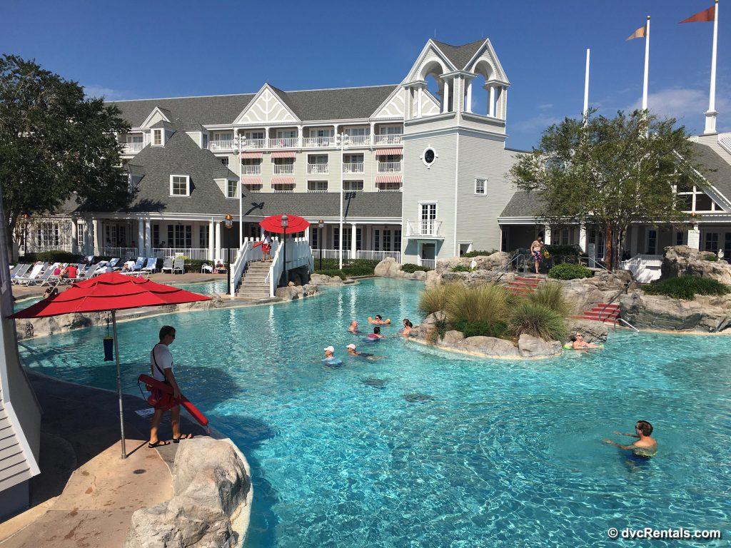 Beach Club Hotel Pools