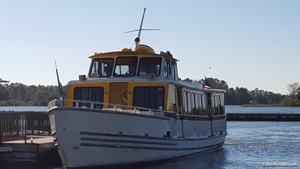 Larger Boat to and from Magic Kingdom from Ft. Wilderness or Wilderness Lodge