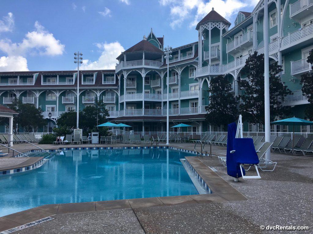 Disney Beach Club Villas quiet pool
