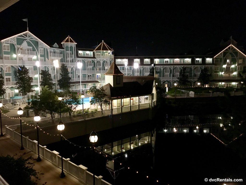 Disney Beach Club Villas Night Shot