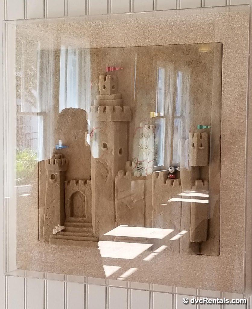 Disney's Beach Club Villas Window Art