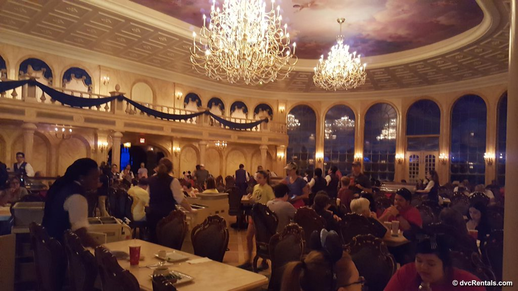 Disney Be Our Guest Restaurant Dining Area