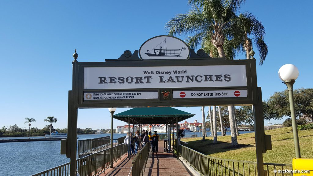 Resort Launch To and From Magic Kingdom