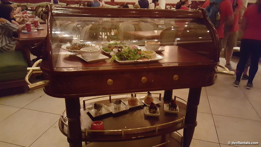 Dinner Service at Be Our Guest Restaurant