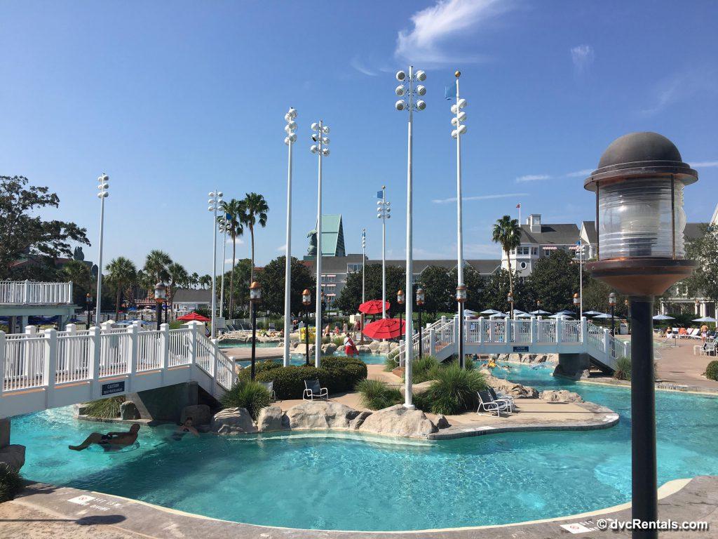 Beach Club Stormalong Bay pool area