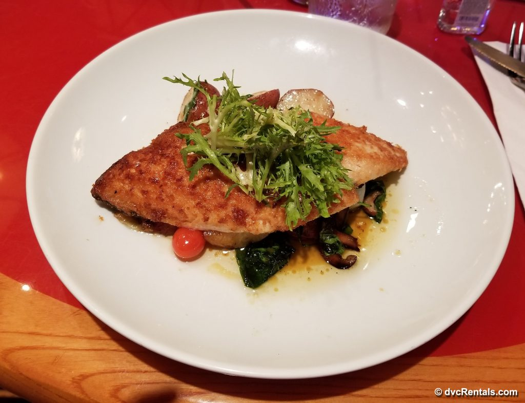 Rainbow Trout at Whispering Canyon Cafe, Wilderness Lodge