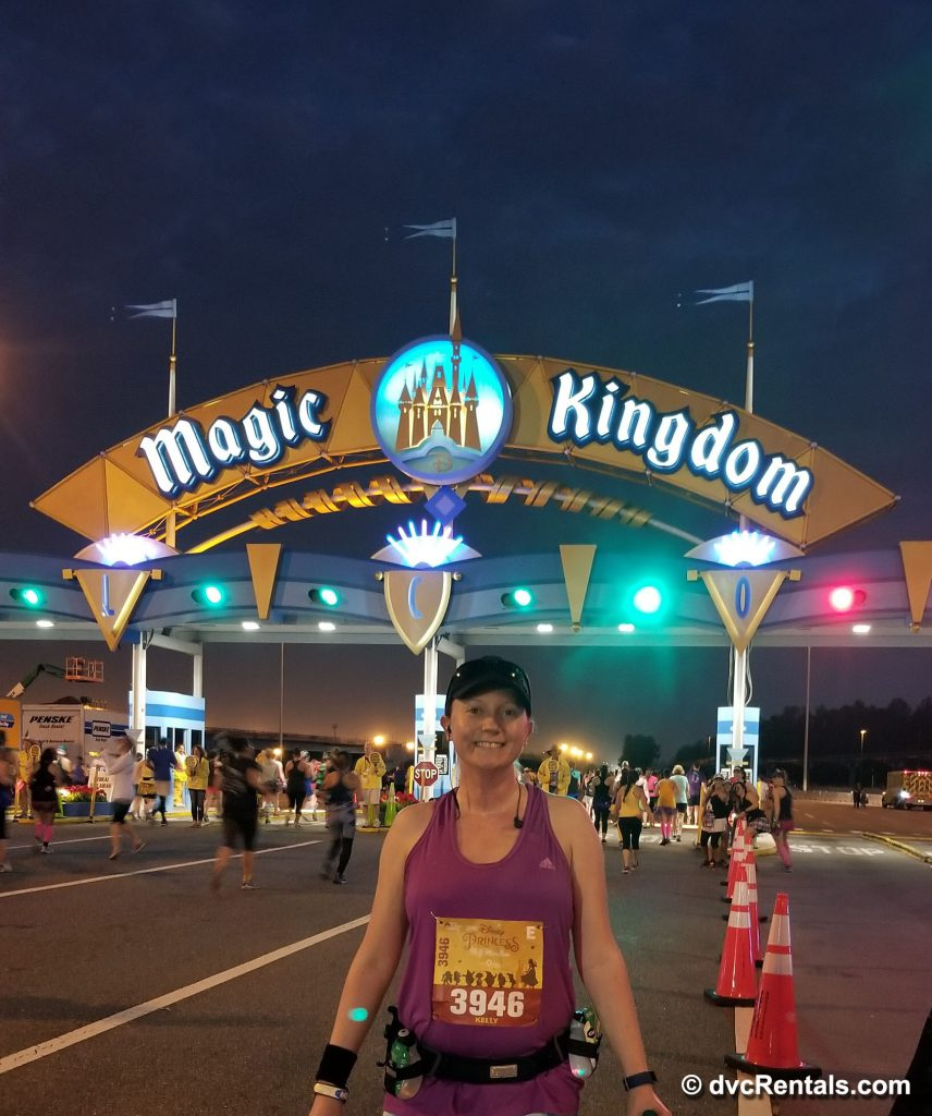 Starting Point at Magic Kingdom Princess Half Marathon
