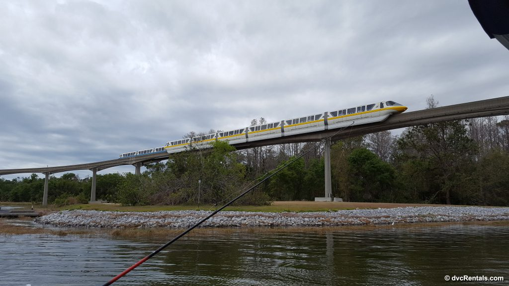 Fishing as Monorails Pass By