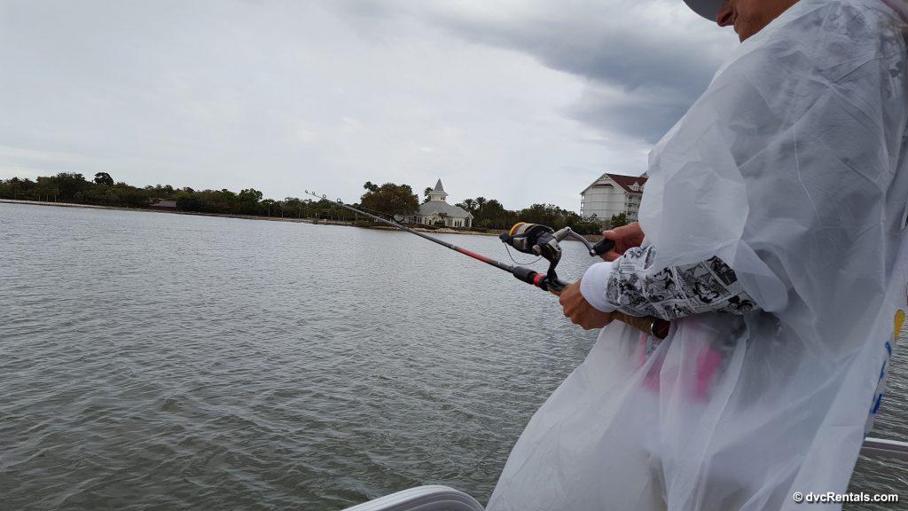 Fishing From Boat at Disney