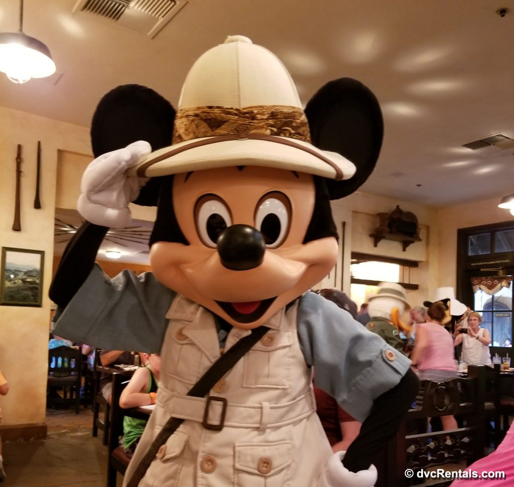 Mickey Mouse Meet and Greet