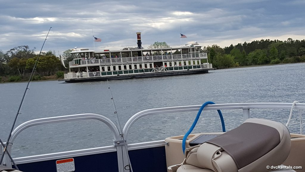 View of Ferry from Boat