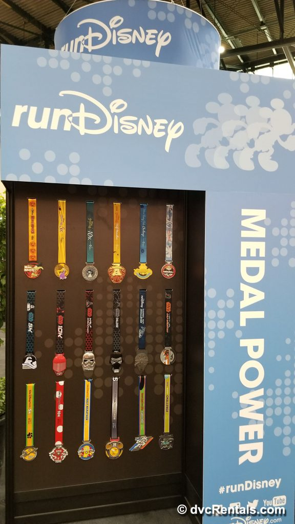 Run Disney Showcase of Marathon Medals