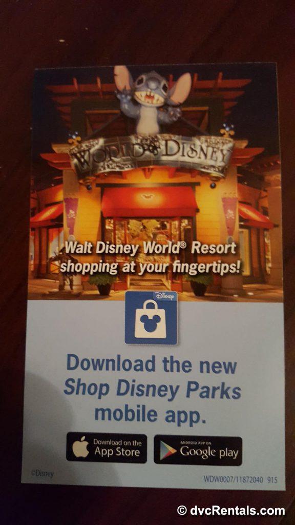 Shop Disney Parks App