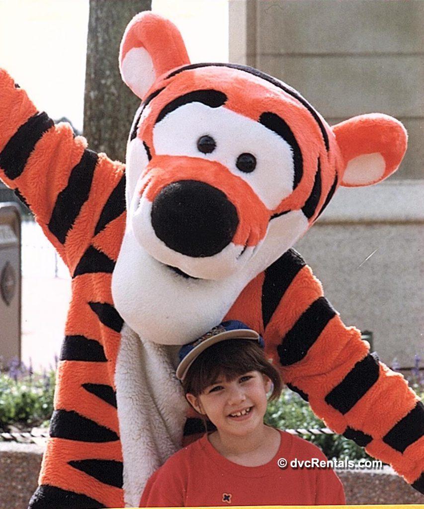 Disney Tiger Character