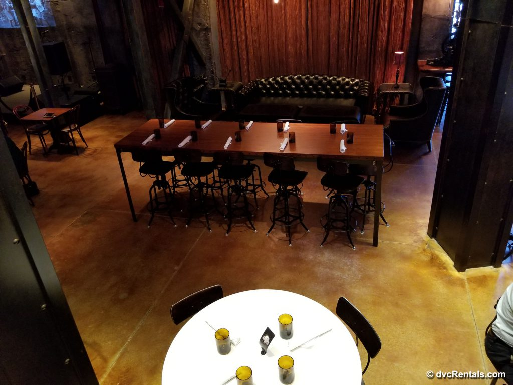 The Edison – tables