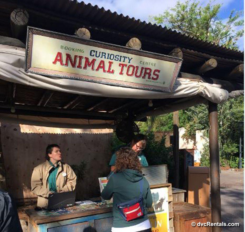Animal Kingdom Tour booth