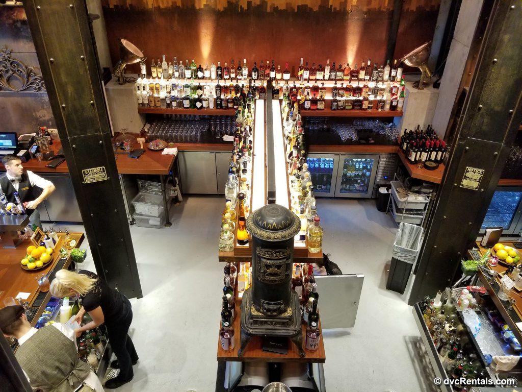 The Edison – downstairs bar