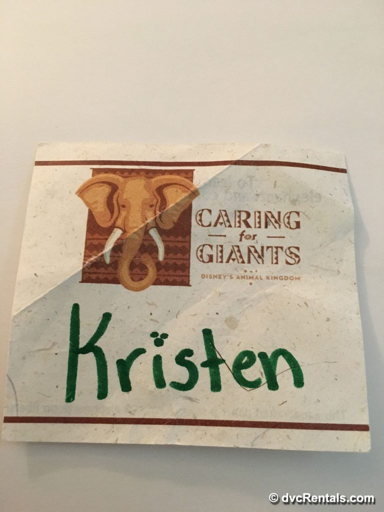 Caring for Giants Nametag