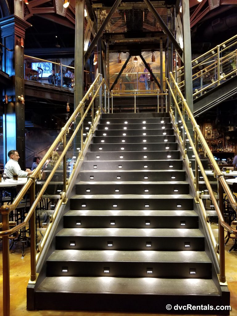 The Edison – feature staircase